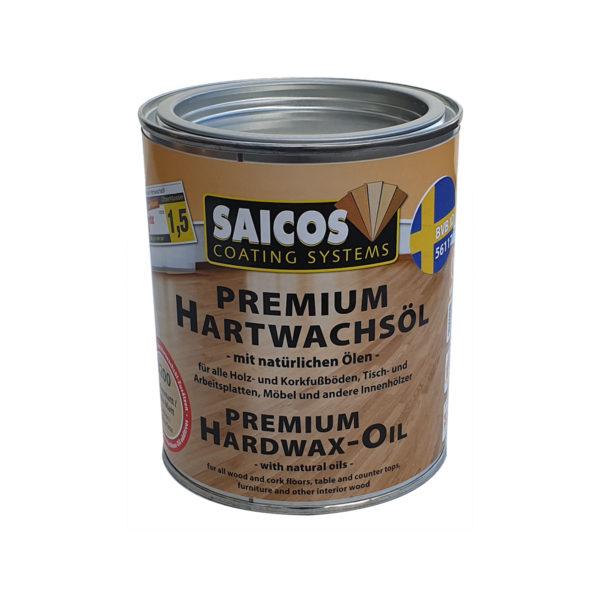 saicos hårdvaxolja naturell 0,75 lit