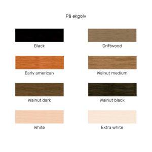 timberex olja pigmenterad white
