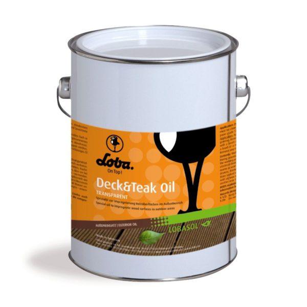 Loba deck and teak oil transparent