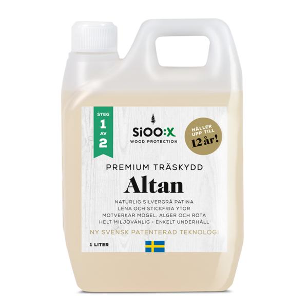 SiOO:X premium träskydd altan 1 liter