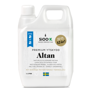 SiOO:X premium ytskydd altan 1 liter