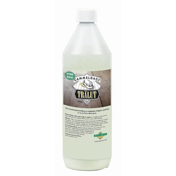 Gammeldags trälut utan kalk 1 liter