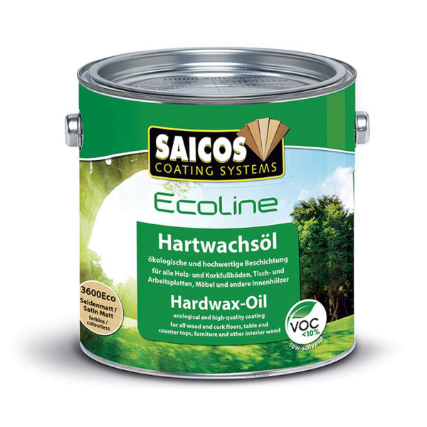 Saicos 3600 ecoline hårdvaxolja