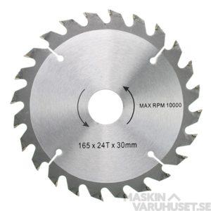 Sågklinga 165 mm 24T Tamo