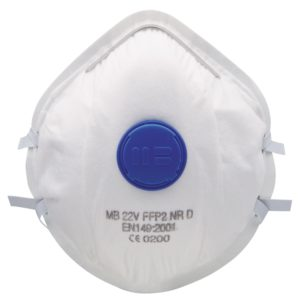munskyd andninsskydd ffp2 ventil