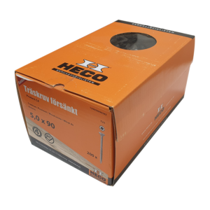 Träskruv 5x90 200st Heco Protect 4 TFT