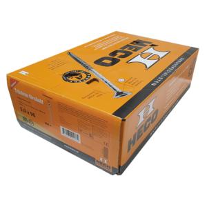 Träskruv 5x90 600st Heco Protect 4 TFT