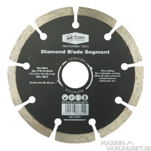 Diamantklinga 115 mm Tamo