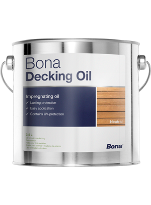 Utomhusolja Bona Decking Oil.